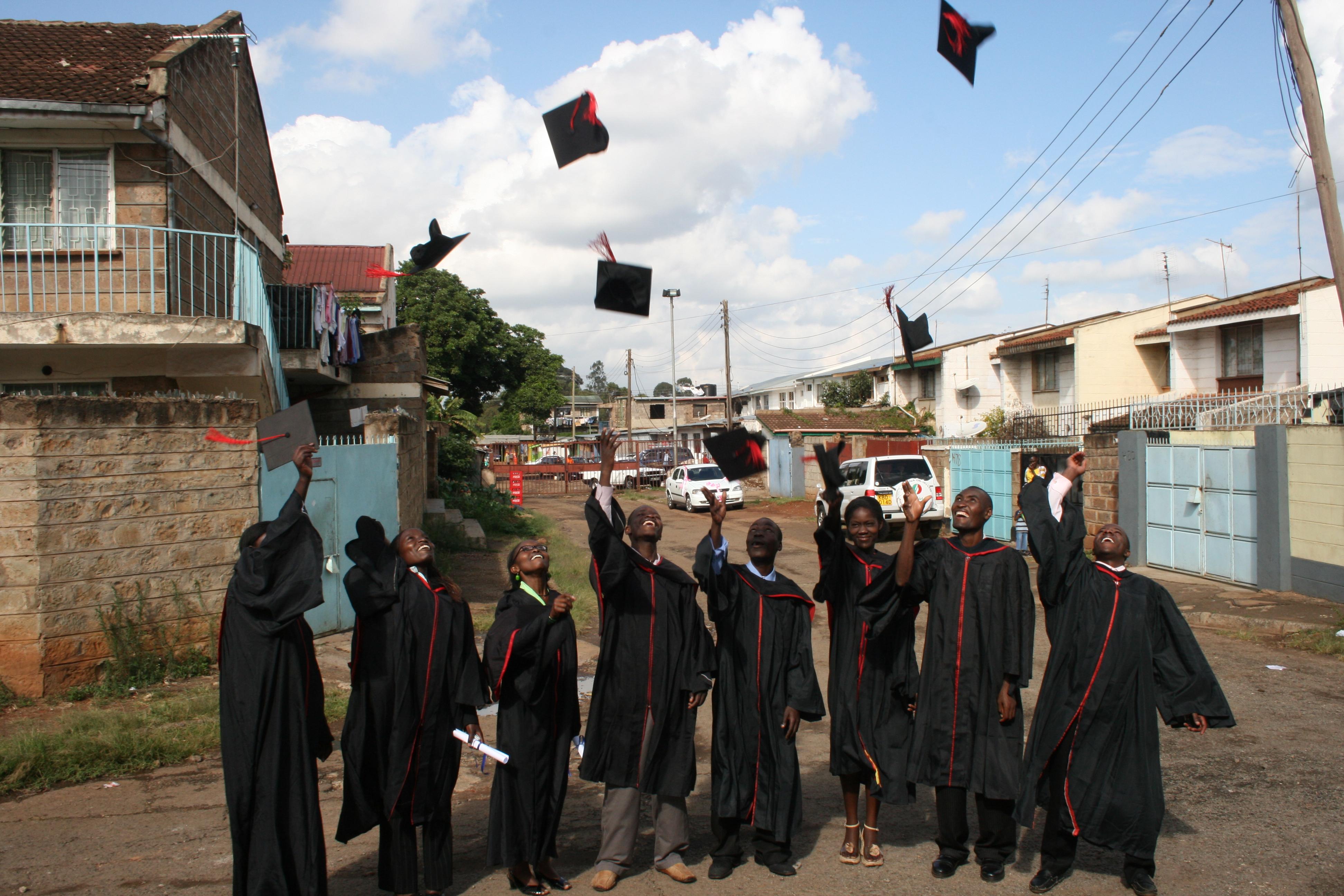Early grad. Kibera nov 2010 545